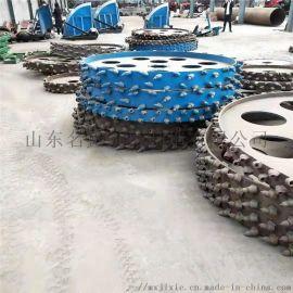 履带式旋耕机 开沟施肥一体机 遥控履带耕整机