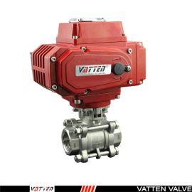 德国VATTENQ41F-16P 气动球阀中德合资上海工厂   电动螺纹球阀