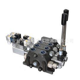 DCV60-2ODQ系列电气控液压多路换向阀