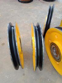廠家直銷天車滑輪組32噸軋制滑輪組片 省力滑輪片