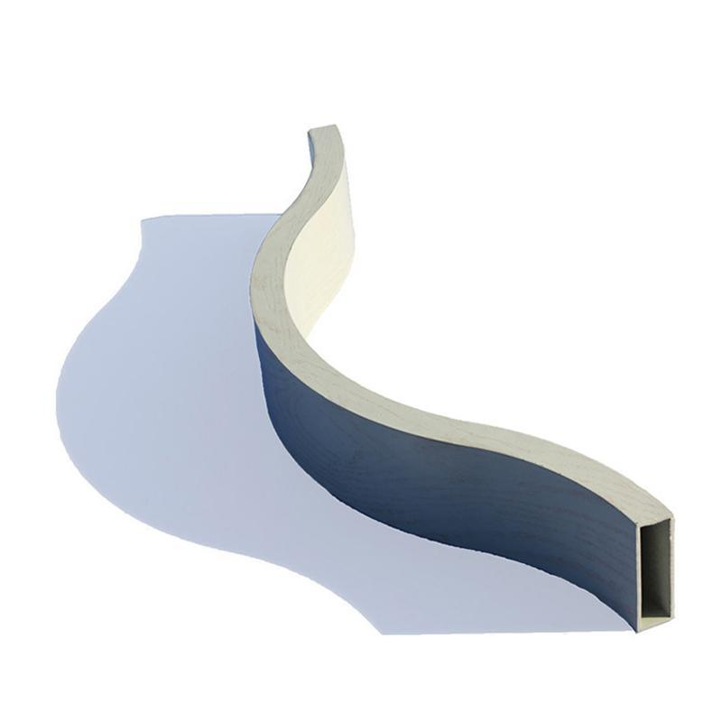 弧形鋁方通吊頂牆體專用材料造型鋁方通規格定製