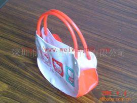 专业定做 pvc包装袋,化妆袋,PVC手提供袋