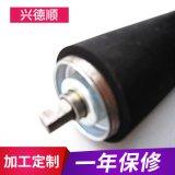 專業供應 深圳包膠滾筒 包膠滾輪 滾筒流水線 包膠滾筒加工