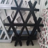 多边形铝格栅厂家加工定制六边形三家框网格铝天花吊顶
