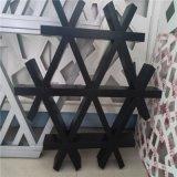 多邊形鋁格柵廠家加工定製六邊形三家框網格鋁天花吊頂