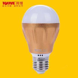 托维LED灯泡E27螺口灯泡,led球泡3W超亮节能灯