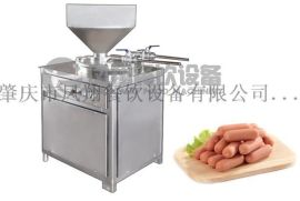 GS-30B厂家直销双管式自动香肠机灌肠机