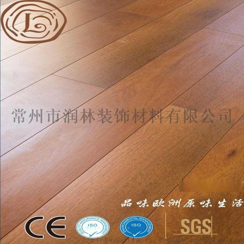 常州晶钻面高密度耐磨多层强化木地板