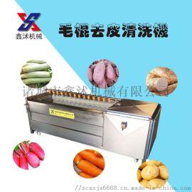 龙虾超声波清洗设备 海产品清洗加工生产线