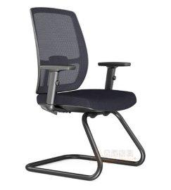 会议室网布椅子厂 现代会议办公椅批发定制