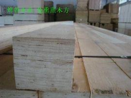 出口玻璃包装用免熏蒸木方  LVL多层板木方