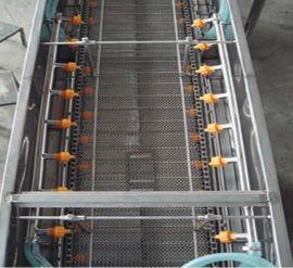 喷淋清洗机输送线 超声波清洗机输送线 清洗机定制生产中