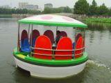 水上莲花造型充电多人船