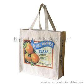 浙江温州苍南印刷生产厂家批发低价格环保袋购物袋/卡通帆布袋/字母帆布袋/棉布袋束口