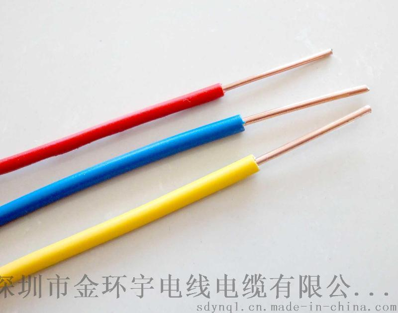 金环宇电缆质量怎么样?NH-BV 0.75mm2国标单芯硬线报价