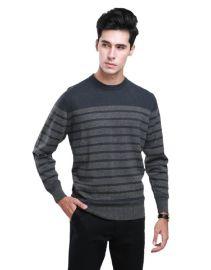 雪舟男士牦牛绒针织衫