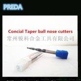 4mm非標錐度銑刀 斜度銑刀 錐度球刀 斜度球刀 鎢鋼合金刀定做