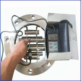 厂家直销法兰管道式浆料除铁器 永磁磁选机 非标定制除铁器