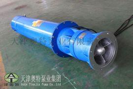 卧式安装积水坑大流量排水泵_导轮式矿用潜水泵直销