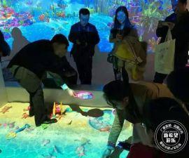 淘气堡游乐场3D互动砸球投影 投影滑梯沙池 室内儿童蹦床游乐设备