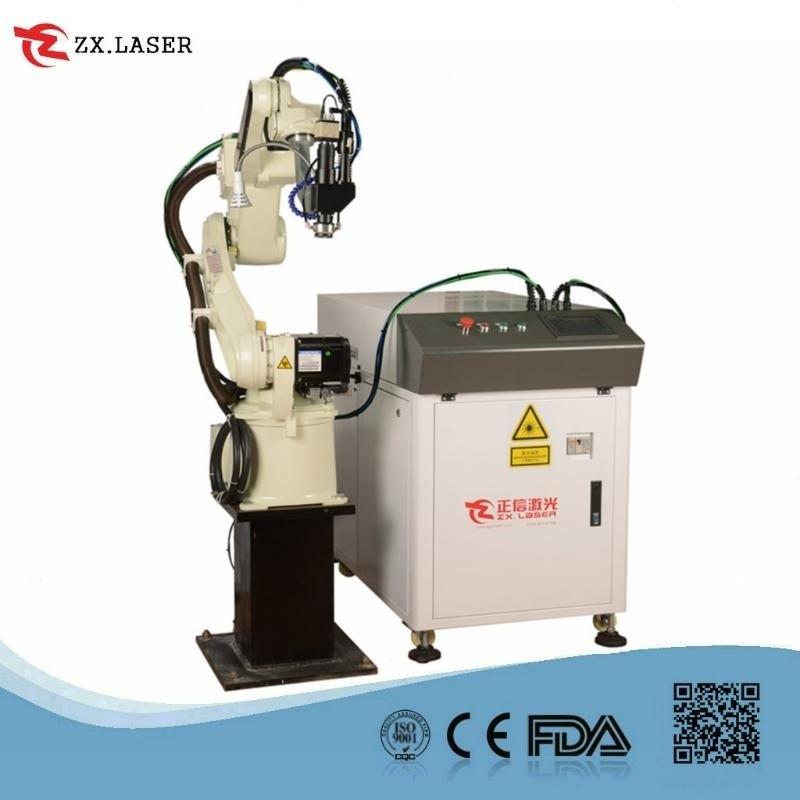 镀锌通讯盒激光焊接机 六轴机械手光纤激光焊接机