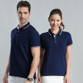 POLO衫定制t恤男女工作服定做短袖企業廣告文化衫diy工衣刺繡班服