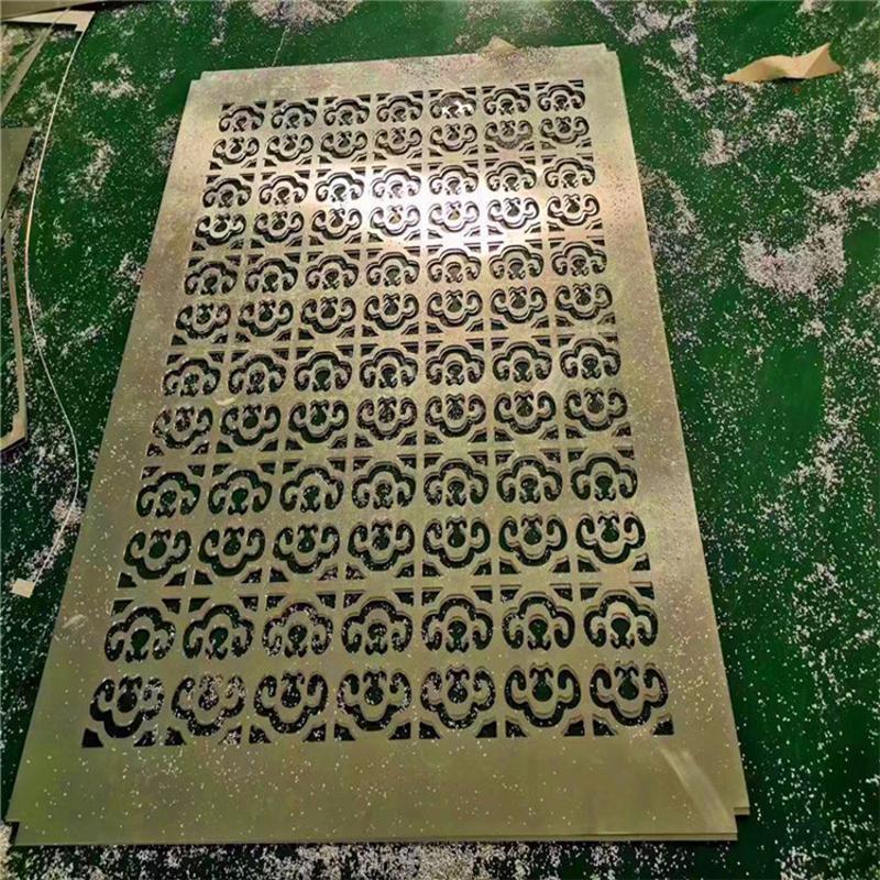 绍兴楼盘雕刻铝单板 低调洋气铝单板雕花