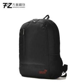 個性禮品饋贈禮品定制背包耐磨防水雙肩包大容量純色電腦包加logo