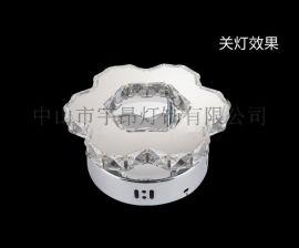 欧式现代铁艺水晶不锈钢壁灯客厅餐厅楼道卧室吊壁灯B106