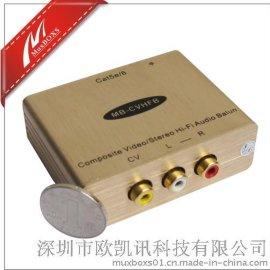 MB-CVHFB高保真音视频转网线传输器
