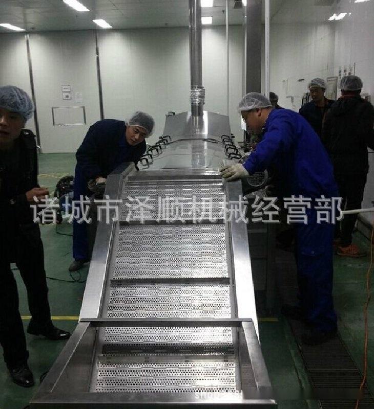 厂家直供全自动藕带漂烫机 腌制菜漂烫机 竹笋漂烫机