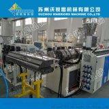 陝西客戶880型PVC合成樹脂瓦設備 ASA仿古竹節瓦擠出機