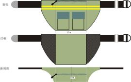 深圳工厂专业生产各种功能工具包 维修腰挂包