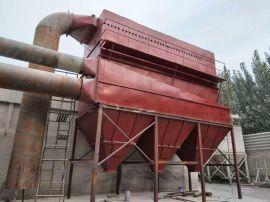 4吨锅炉脉冲布袋玻璃钢脱 除尘器仓顶除尘器厂家120袋现货供应