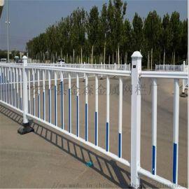 人行道防护栏@PVC市政道路护栏@锌钢护栏