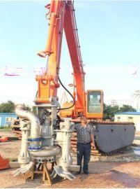 山东江淮JHW清淤泵专业挖掘机治沙场渣浆泵售后完善