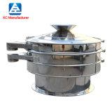 定制圆形振动筛分离设备不锈钢筛分机小型振动筛