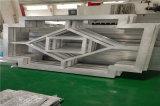 深灰色隔斷 碳鋁窗花  碳紅方管焊接鋁通花