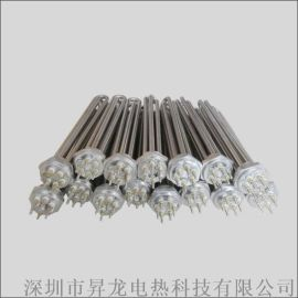 铜法兰绿不锈钢加热管蒸汽机电子锅炉电热管发热管