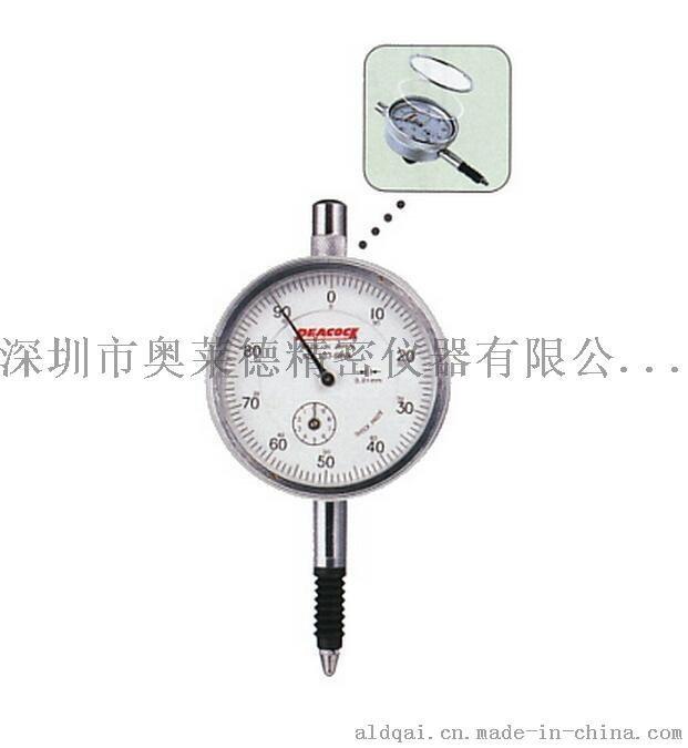 日本peacock孔雀牌进口高精度指针式百分表107-SWA