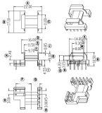 EPC17高頻變壓器骨架 臥式5+2腳 有配套磁芯銷售