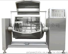 供应桂冠机械真空横轴卧式可倾搅拌夹层锅