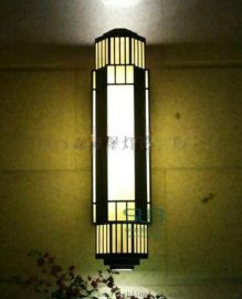 云石壁灯灯具厂家电镀  大理石壁灯户外防水室外不锈钢壁灯定制