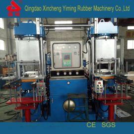 青岛全自动双联橡胶抽真空100T 化机_高精度100T抽真空平板 化机