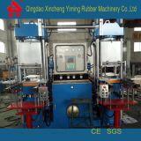 青島全自動雙聯橡膠抽真空100T硫化機_高精度100T抽真空平板硫化機