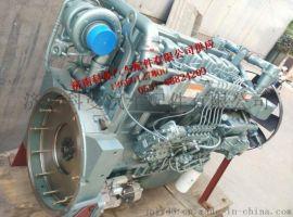 重汽两气门国二371马力发动机