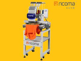 【瑞珂玛】国际品牌PT型号单头机8、12、15针电脑绣花机