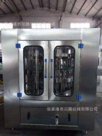 购买灌装机尽在川腾机械 全自动玻璃瓶二合一灌装机