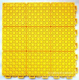 河南新代九宮格拼裝地板籃球場專用地板懸浮拼裝地板緩衝性能優
