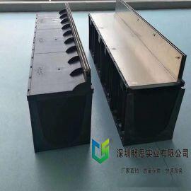 定制塑料排水沟 HDPE排水沟 不锈钢排水沟盖板 HDPE盖板 塑料盖板